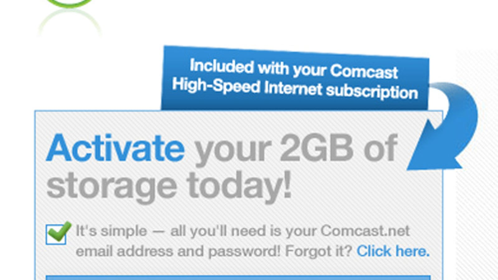Comcast Offers Up to 200GB of Online Storage But Still Caps