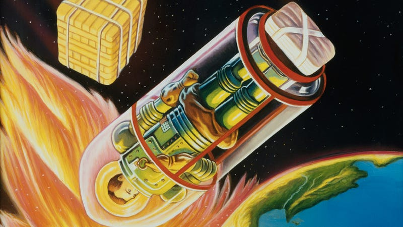 Illustration for article titled The Most Vibrant Pulp Science Fiction Art You'll See This Week