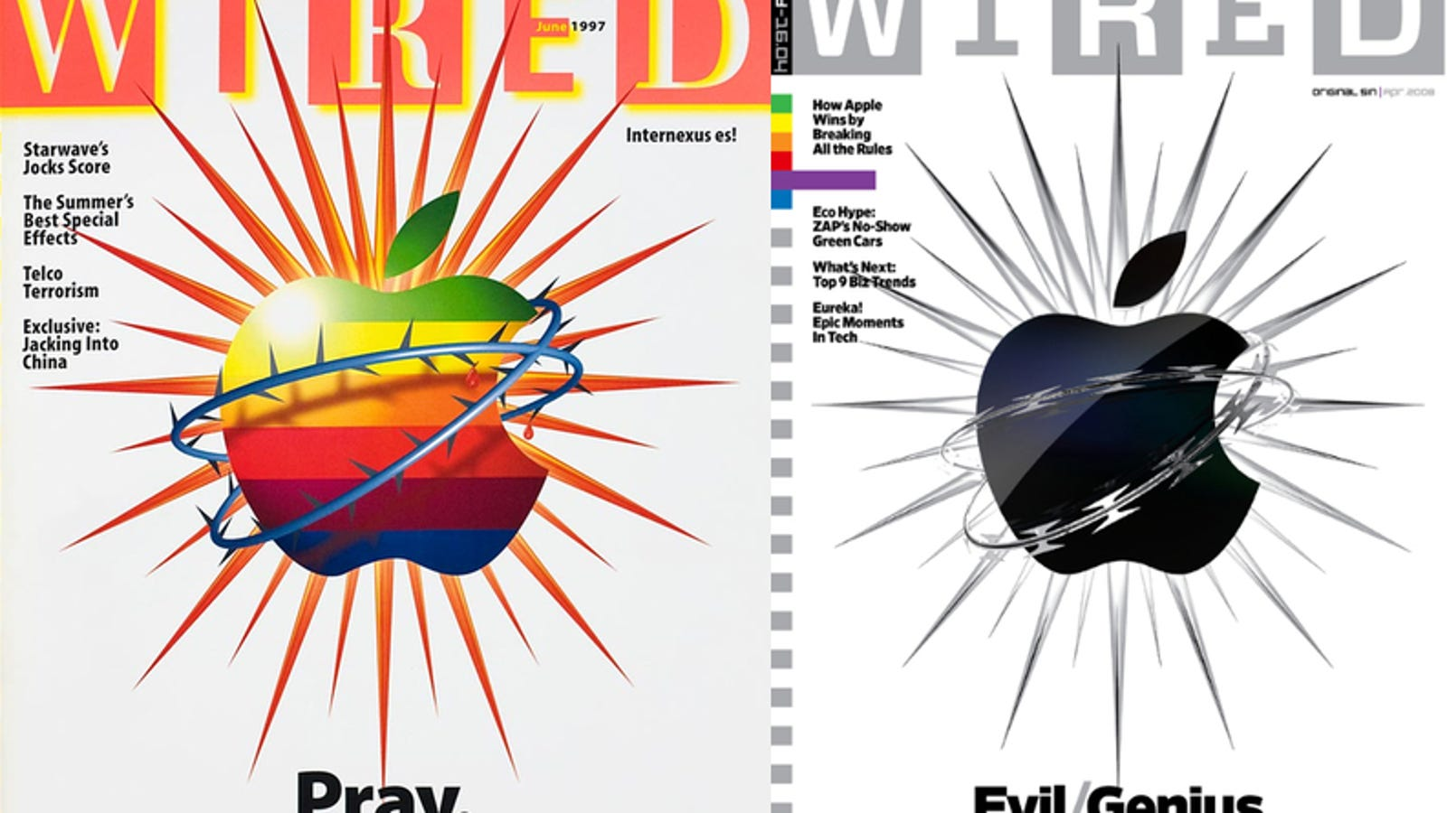 Wired on Apple: \
