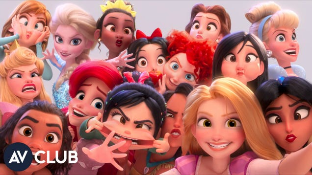 Ralph Breaks The Internet's animators explain how the Disney princess scene came together