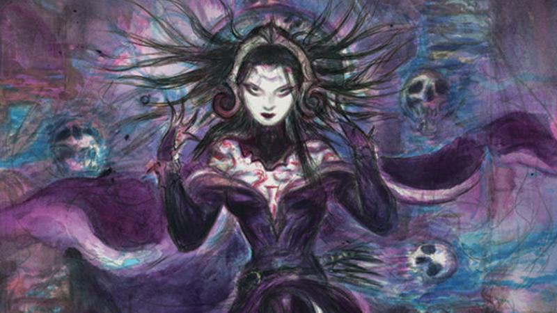Illustration for article titled Final Fantasy Artist Yoshitaka Amano Has Designed A Magic: The Gathering Card