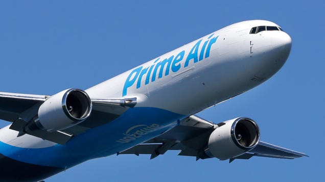 Amazon Air Jet Crashes in Texas, With Three on Board Believed Dead