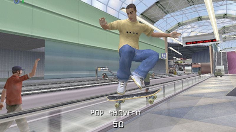 Screenshot: Tony Hawk's Pro Skater 3