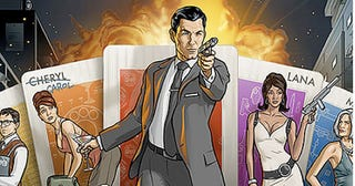 Illustration for article titled Murder, Martinis, & Mundanity: The Office Politics of Archer