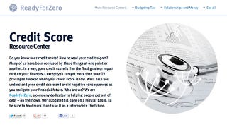 Debt Management Webapp ReadyForZero Now Monitors Your Credit Score