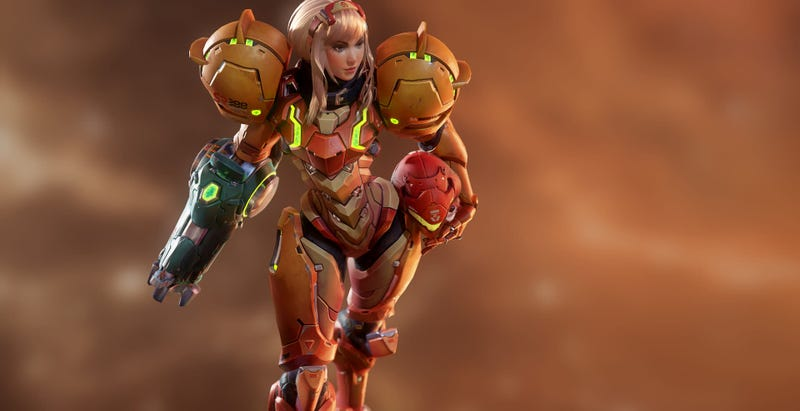 Illustration for article titled A Slightly Different Take On Metroid's Samus Aran