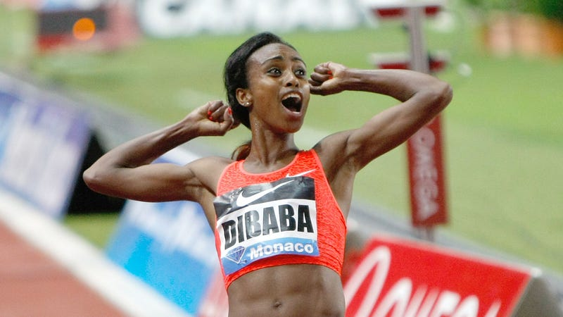 Illustration for article titled Oops, She Did It Again: Dibaba Sets World Record At 1500 Meters