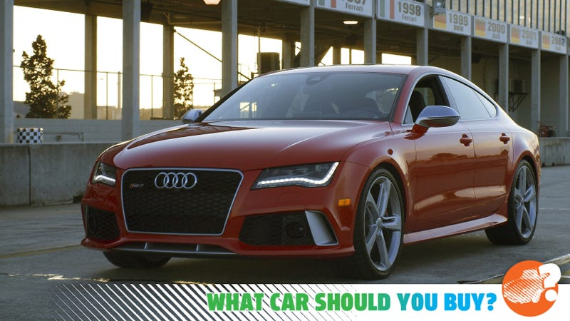Illustration for article titled I Have $200,000 to Spend on Something Faster Than My Audi RS7! What Car Should I Buy?