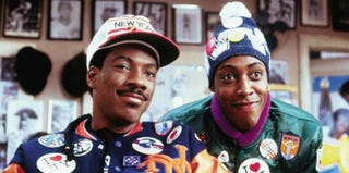 Eddie Murphy and Arsenio Hall in Coming to America (Paramount/IMDb)