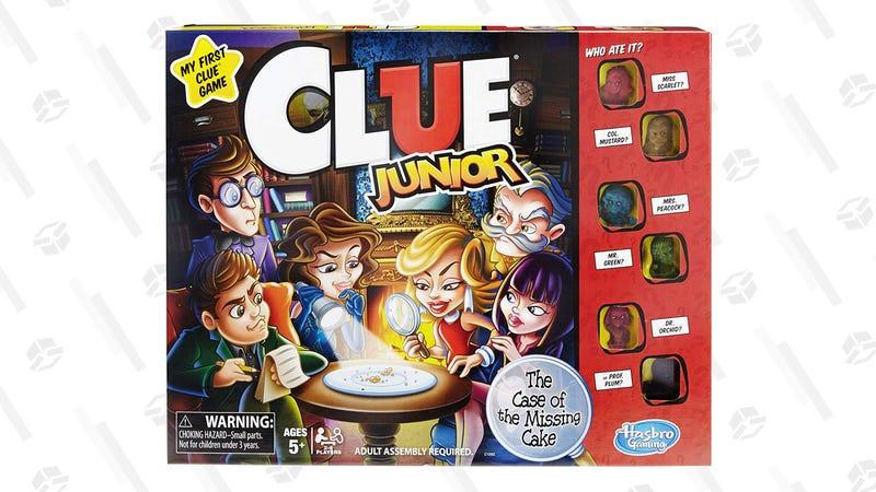 Clue Junior Game | $9 | Amazon