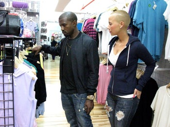 Illustration for article titled Kanye Buys Hoodies, Stands Up Agyness; Stella To Design For Gap