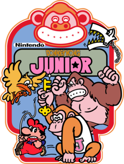 Art from the original arcade cabinet, Image: Super Mario Wiki