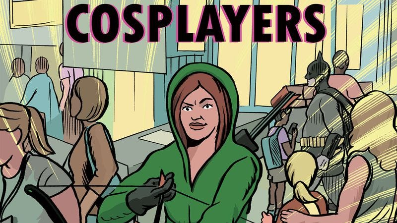 Illustration for article titled Cosplayers is a comic worthy of the fandom it explores