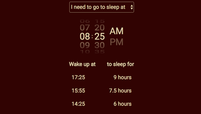 Illustration for article titled Sleeptime Calculates Your Bed Time Based on Your Sleep Cycle