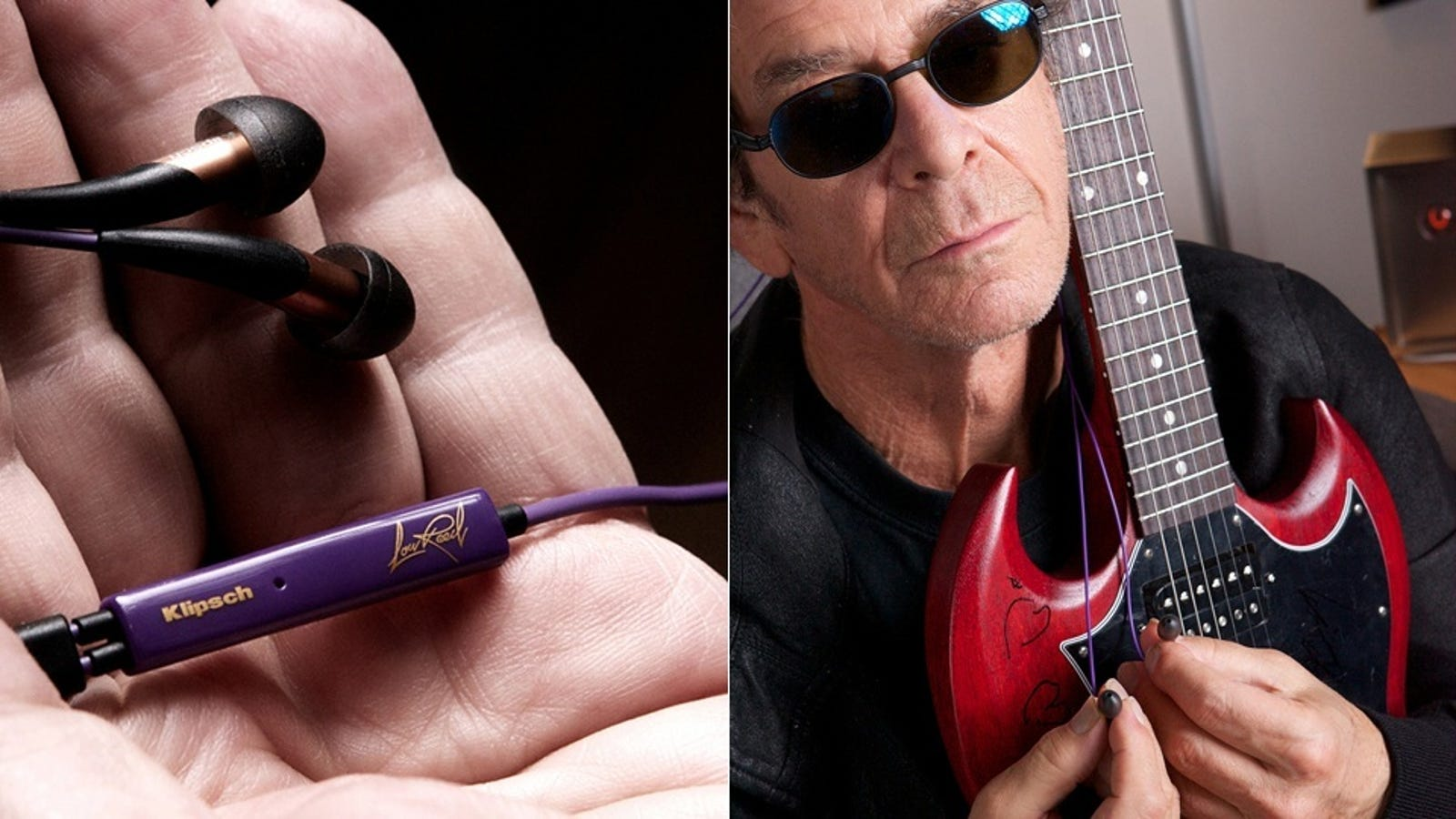Noise cancelling earbuds concert - Save Lou Reed!