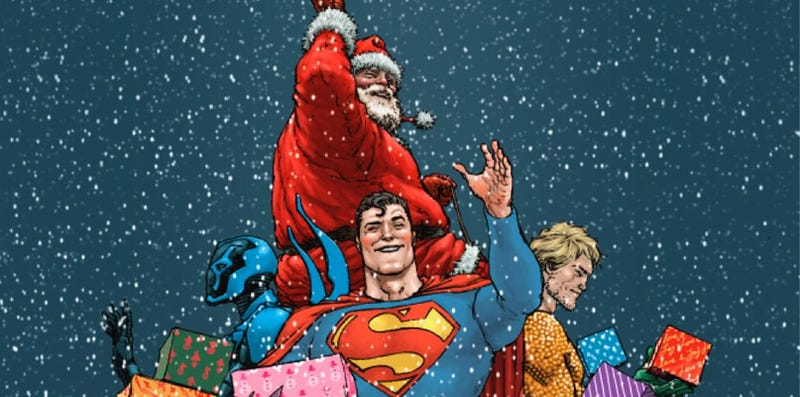 Illustration for article titled But Is Santa Faster Than A Speeding Bullet?