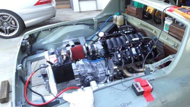 Porsche 914 Ls6 Swap