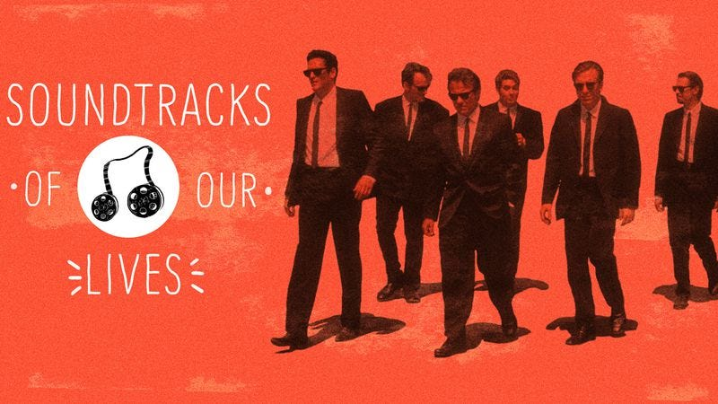 The Reservoir Dogs soundtrack made everything a little cooler