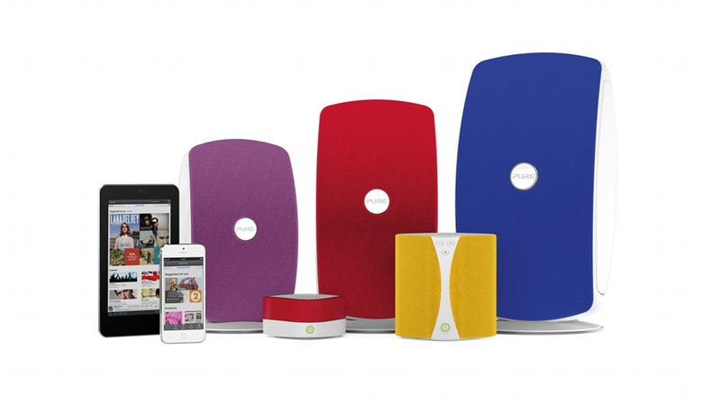 Illustration for article titled Pure Audio's Flexible Wireless Music System Now Works With Any App