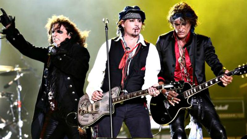 Illustration for article titled Hollywood Vampires Concert Review