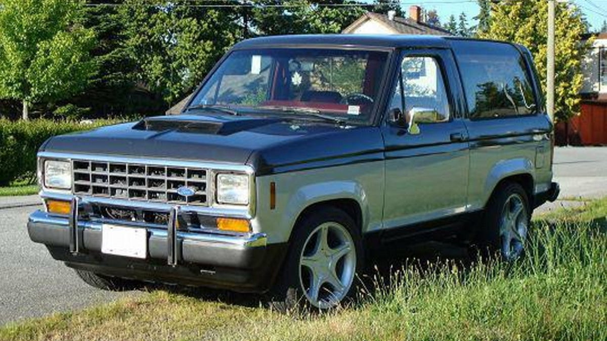 For 4400 Bronco Ii Boredom Zero 1980 Ford Blue