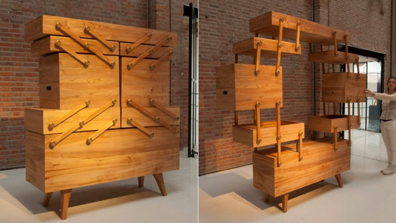 Merveilleux Dutch Designer Kiki Van Eijk Created This Cabinet To Look Like An Antique Sewing  Box. She Really Hit The Nail On The Head Here, Because It Immediately ...