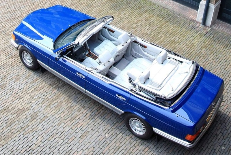 Illustration for article titled Dutch Royal Family Restores 1985 Mercedes 380 SEL Caruna