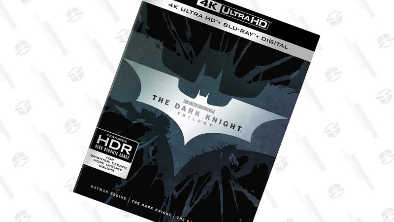 The Dark Knight Trilogy 4K | $43 | Amazon