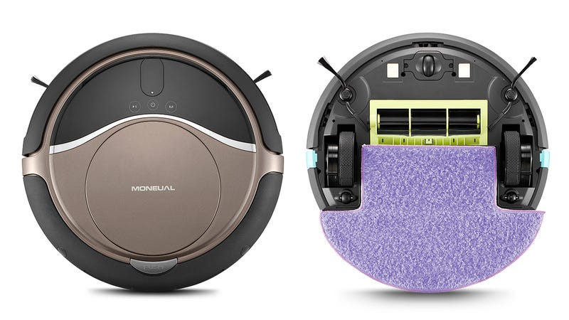 Illustration for article titled Moneual's Hybrid Mopping Robot Vacuum Remembers Every Spot It's Missed