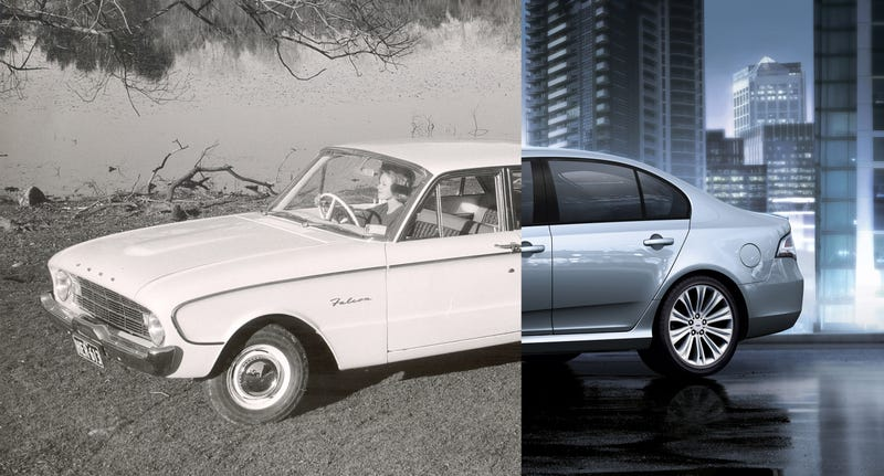 Illustration for article titled Every generation of the Ford Falcon