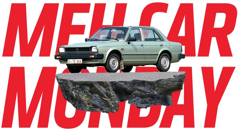 633ce0bf1ad Illustration for article titled Meh Car Monday  The Fine
