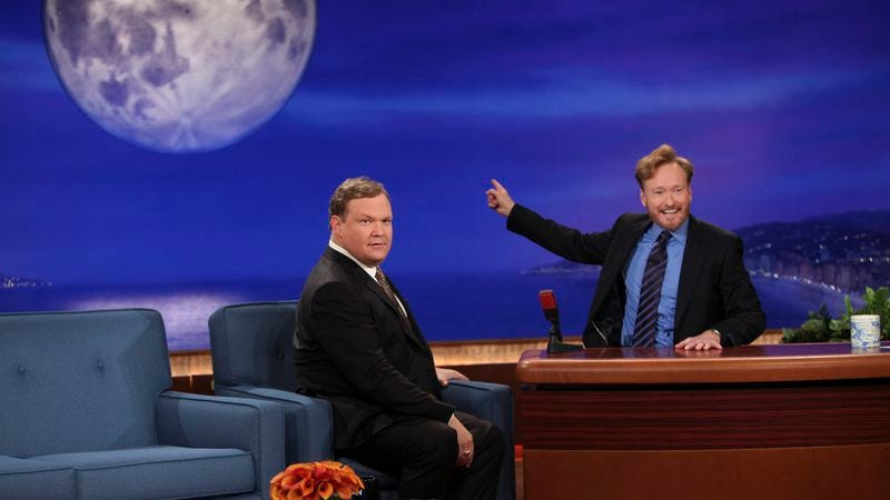 Illustration for article titled UPDATED: Conan might go weekly someday, will stay nightly for now