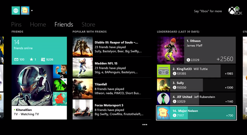 Illustration for article titled October Xbox One Update Will Make Gamerscore A Bigger Deal