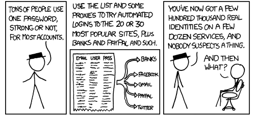 The Problem with Using the Same Password Everywhere, Illustrated