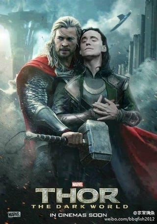 Illustration for article titled Now this is the Thor 2 movie poster we want