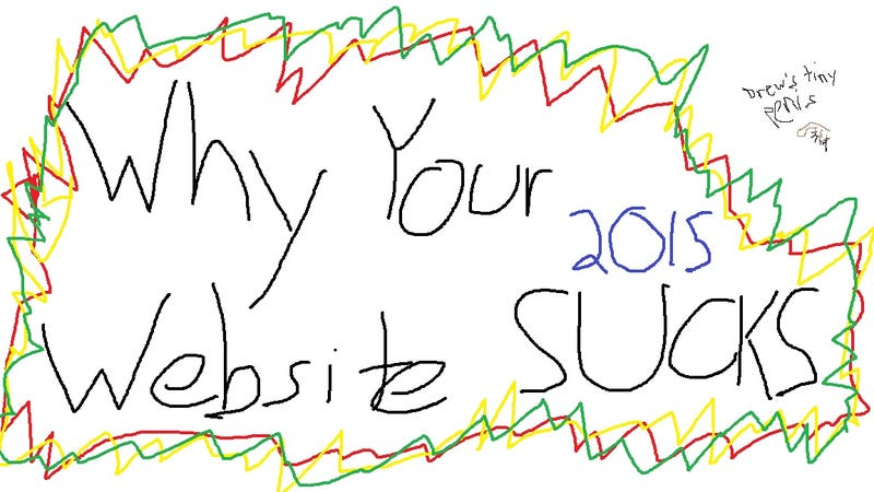 Illustration for article titled Why Your Website Sucks, by Chris Kluwe, Sexy Internet Badass