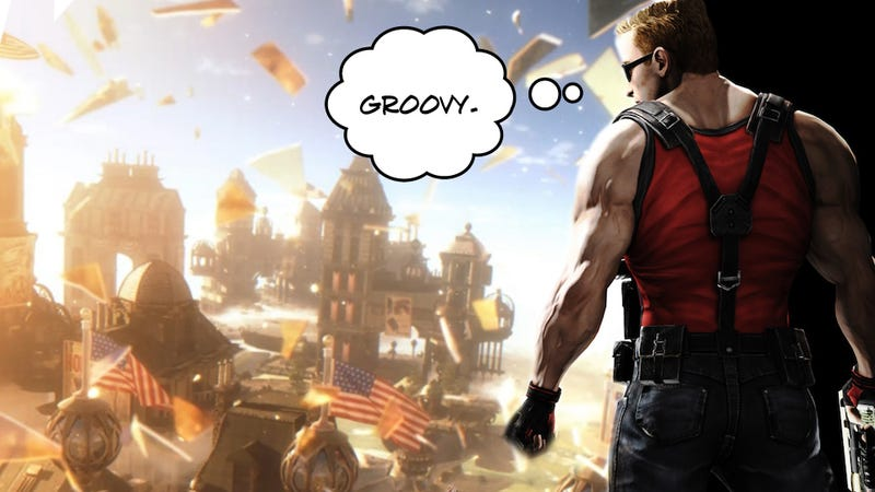 Illustration for article titled Twitter Is Pretty Sure Bioshock Infinite Has Become Duke Nukem Forever