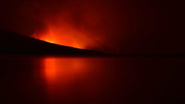 Glacier National Park Is on Fire