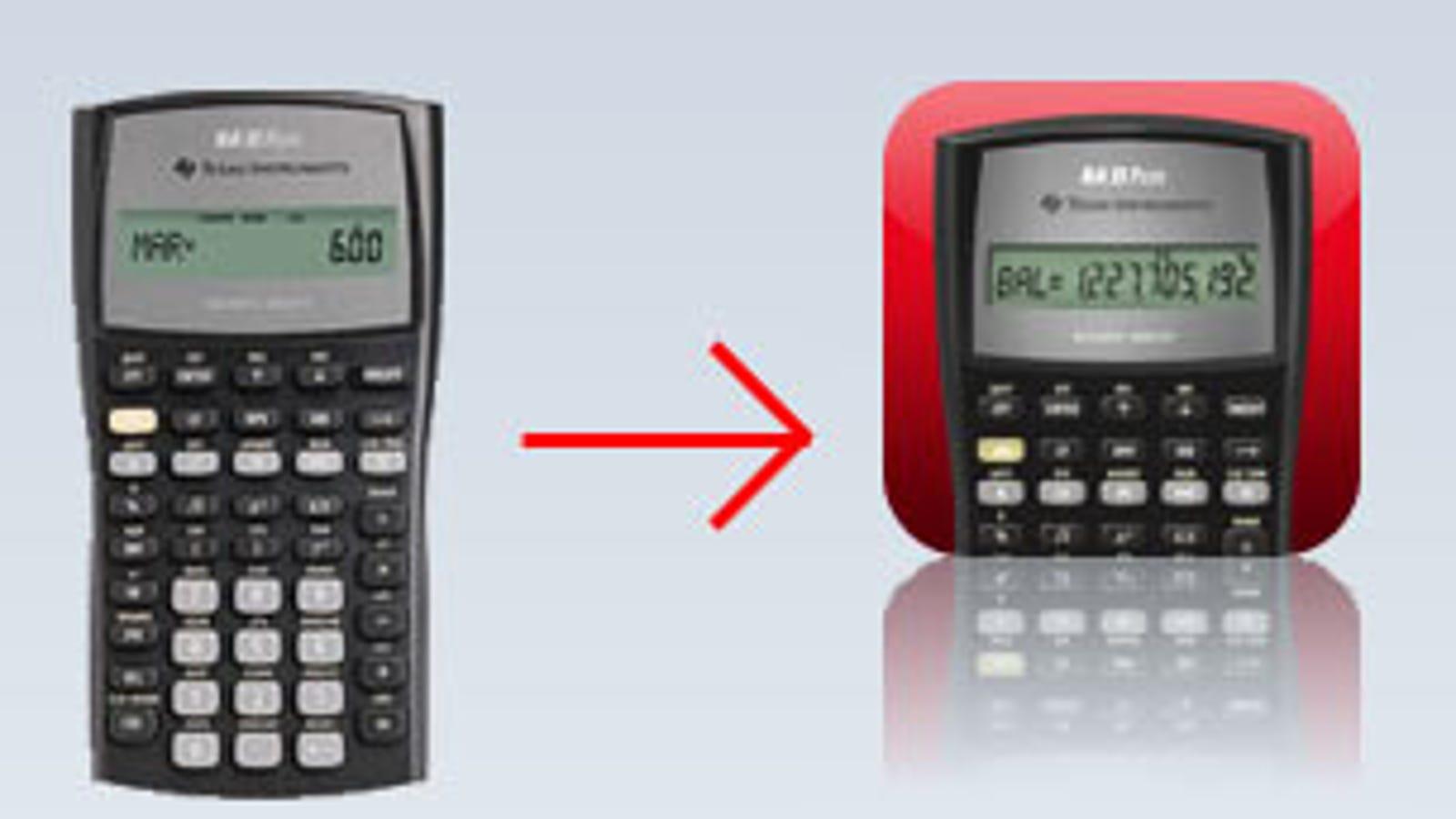 TI Turns $30 Calculator Into $15 iPhone App, Swears People Still Pay