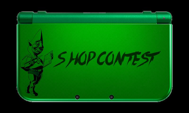Illustration for article titled Kotaku 'Shop Contest: Make Your Own Damn ZeldaNew3DS XL