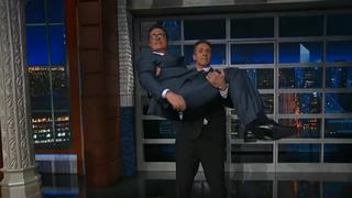 Stephen Colbert, Chris Cuomo