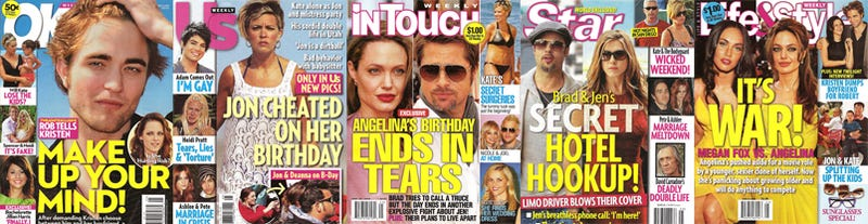 Illustration for article titled This Week In Tabloids: Angie & Kate's Birthday Tears