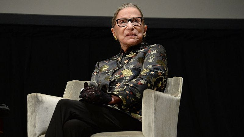 Ruth Bader Ginsburg (Photo: Michael Kovac/Getty Images)