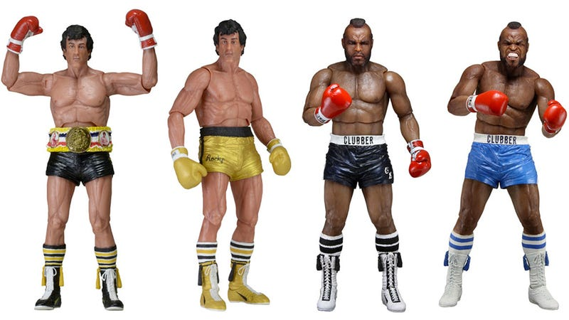 Illustration for article titled A Miniature Mr. T Makes This 40th Anniversary Rocky Figure Set Totally Worth it