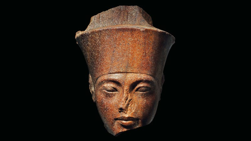 The 3,300-year-old sculpture of King Tut.