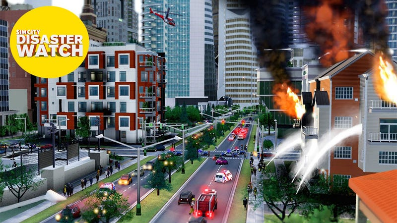 """Illustration for article titled EA Honestly Believes SimCity Has Been A """"Success"""""""