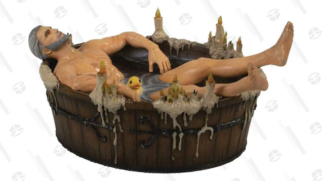 Take a Bath With Your Good Friend Geralt for 26% Less Today
