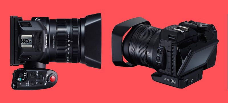 Illustration for article titled Canon Just Reinvented the Camcorder With the 4K Shooting XC10