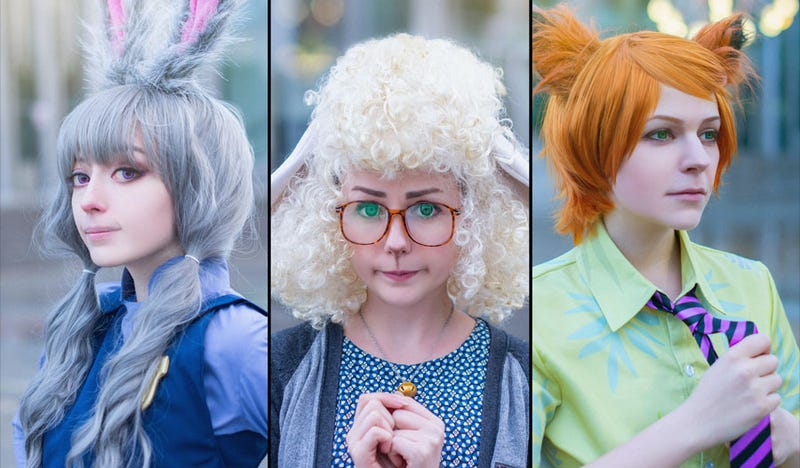 Illustration for article titled OK, This Zootopia Cosplay Actually Works