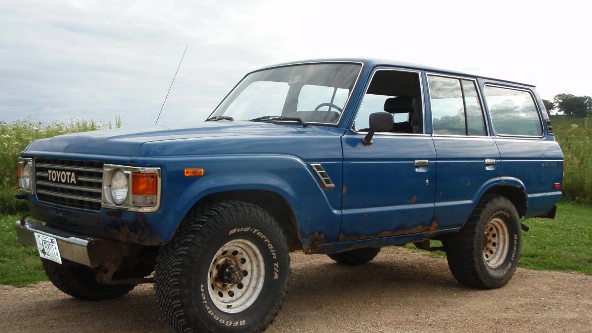 At $3,500, Would You Let This 1984 Toyota Land Cruiser Rust In Peace?